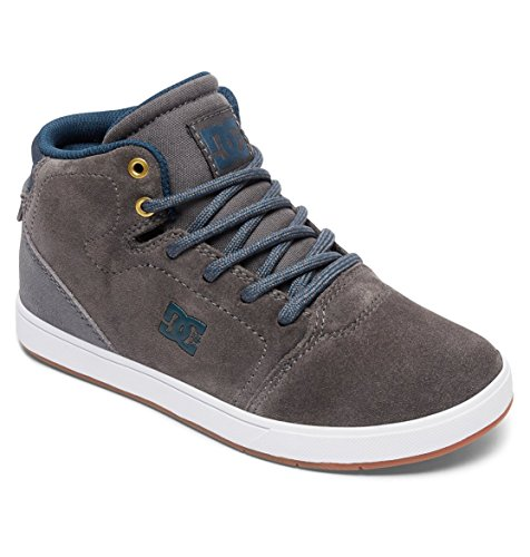 DC Shoes Crisis High, Zapatillas Para Niños Grey