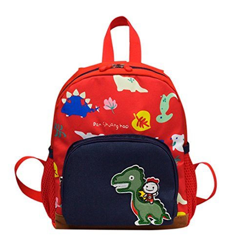 school bag for kids,iOPQO Baby Dinosaurs Pattern Cartoon Toddler (Cargo Flight Bag)
