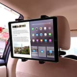 Car Headrest Tablet Mount Holder,Backseat Seat Universal Tablet Holder for Car Mount 360° Adjustable Rotating for Samsung Galaxy Tab/Ipad Mini/iPad Air 2 /iPad Air/iPad 4/iPad Pro/Amazon Fire HD