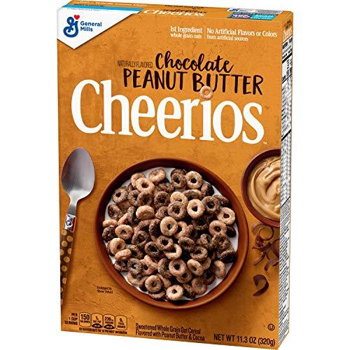 Chocolate Peanut Butter Cheerios 11.3 oz Now $2.09