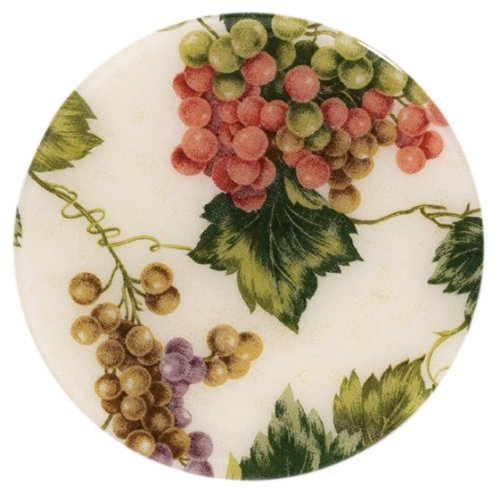 Andreas Silicone Trivet, Seedless Grapes, 8 Inch