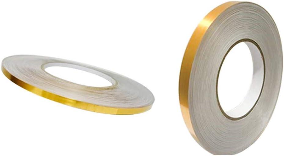 0.5cm+1cm, Gold Masrin 50 Mt Keramikfliesenband Bodenfliesen Dekoration Zimmer Boden Fugend/üse Aufkleber