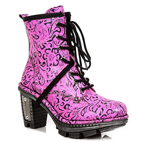 New Rock Neo Trail Damen Leder Rosa Stiefel M.NEOTR008-S11 Purple