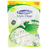 DenTek Triple Clean Floss Picks 120-Count