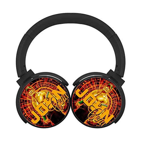 John-Cena Popular Bluetooth Headset Cool Lightweight Wireless Black