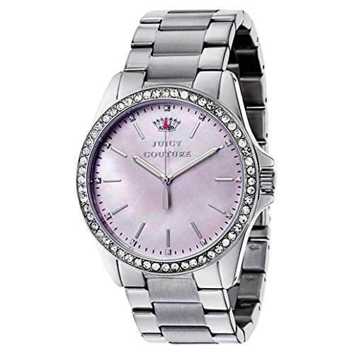 Juicy Couture Women's 1901263 Stella Analog Display Quartz Silver Watch
