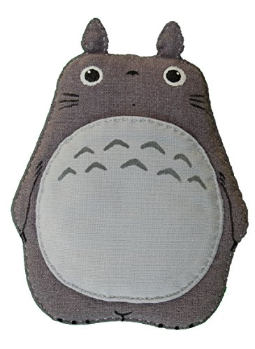 Totoro Iphone 5, 4, 4s, 3gs, 3g Soft Case Light Grey (Spirited Away Ipod 4 Case)