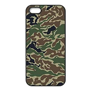 Custom Camouflage Back Cover Case for iphone5,5S JN5S-060