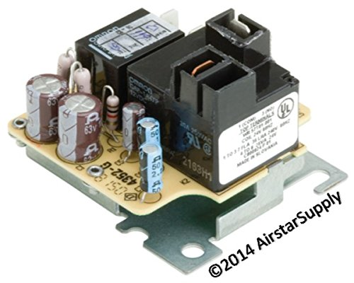 RLY02807 - American Standard OEM Replacement Furnace Blower Relay (Standard Furnace)