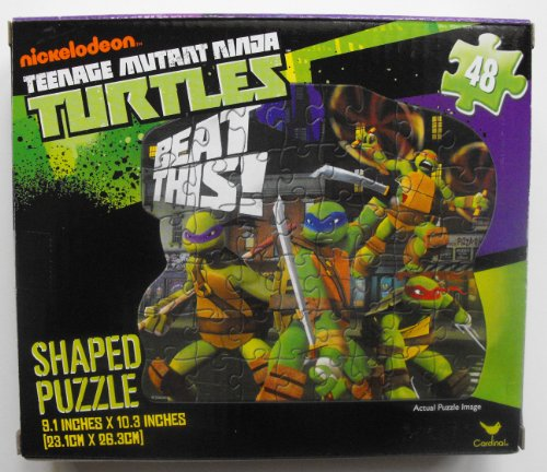 Teenage Mutant Turtles Nickelodeon Shaped