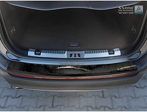 Autostyle 2//45068 Schwarz Edelstahl Hecksto/ßstangenschutz Black