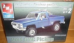 #31939 AMT/ertl 1984 GMC Pickup 1/25 Scale Plastic Model Kit,Needs Assembly by AMT/Ertl