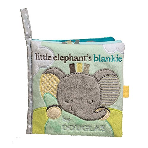 Cuddle Toys 6408 15 cm Square Elephant Activity Book ()