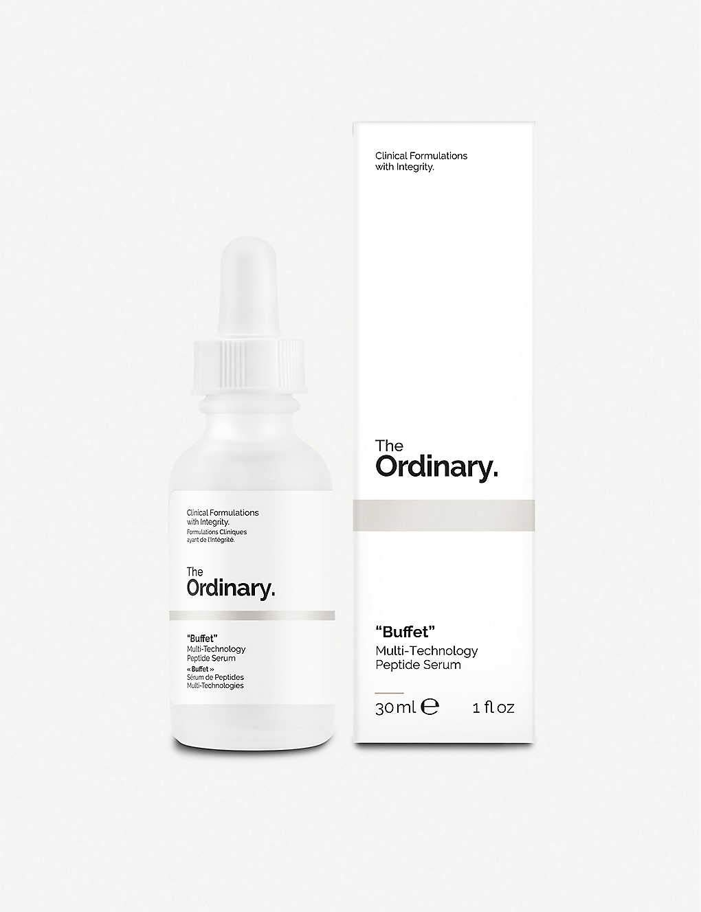 The Ordinary Buffet - Large (60mL/2oz)