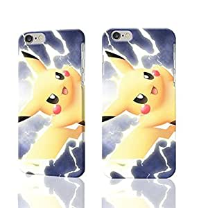 "Pokemon XV Anniversary Pikachu Charzard 3D Rough iphone Plus 6 -5.5 inches Case Skin, fashion design image custom iPhone 6 Plus - 5.5 inches , durable iphone 6 hard 3D case cover for iphone 6 (5.5""), Case New Design By Codystore"