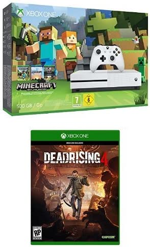 Xbox One - Pack Consola S 500 GB: Minecraft + Dead Rising 4: Amazon.es: Videojuegos