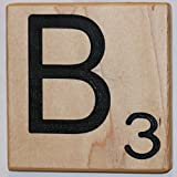 Large Scrabble Letter Tile (8 x 8, B)