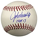 John Smoltz Atlanta Braves Signed Rawlings Official MLB Baseball HOF 15 PSA