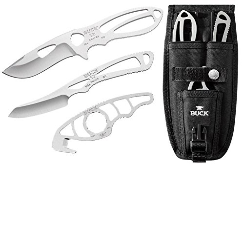 Buck 141 Paklite Field Master Knife With Black Traction Coat -