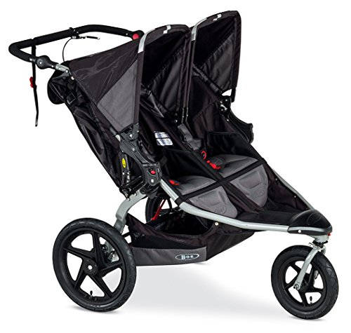 BOB Revolution Pro Duallie Stroller, Black Prior Model