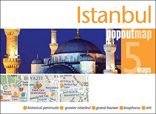 Istanbul PopOut Map: Handy, pocket-size, pop-up map for Istanbul (PopOut Maps)