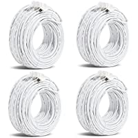 Funlux/Zmodo 3rd Gen Pack of 4 50ft sPoE NVR MicroUSB Camera Cable W-USB015-M