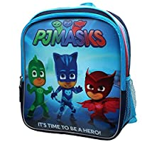Accessory Innovations Disney Junior PJ Masks Superheros Owlette Catboy and Gekko Backpack