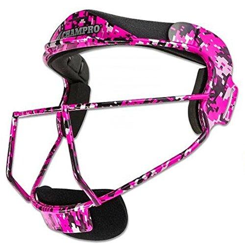 - CHAMPRO CM01 FIELDERS FACE MASK SOFTBALL CP Hot Pink ADULT 6.75-7.5