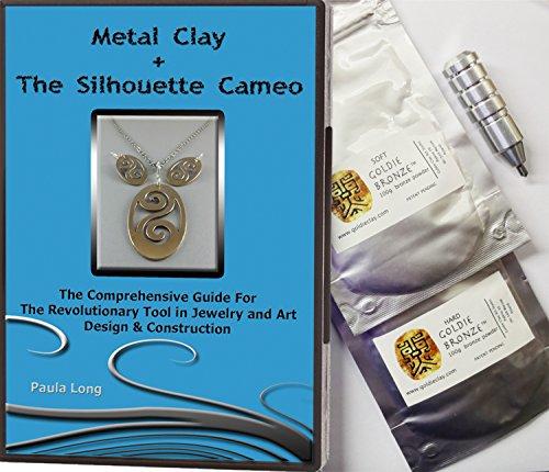 Bundle 4 Items Metal Clay Goldie Clay Goldie Bronze Soft 100g