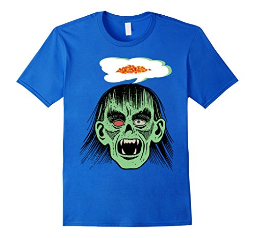 5 Minute Diy Halloween Costumes (Mens Funny Scary Monster Costume Halloween Shirt for Kids Adults XL Royal Blue)