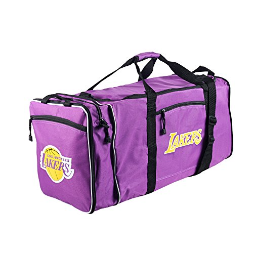 The Northwest Company NBA Los Angeles Lakers Extended Duffle Bag, One Size, Purple by The Northwest Company