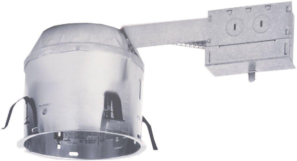 aluminum recessed lighting remodel ic airtite shallow housing recessed light fixture housings amazoncom - Halo Recessed Lighting