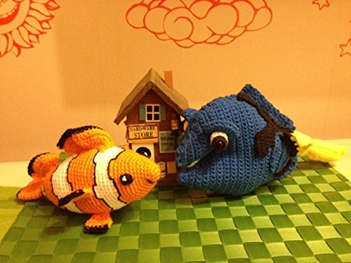 Crochet PATTERN Dory fish from Finding Nemo pattern by von Krawka ... | 375x500