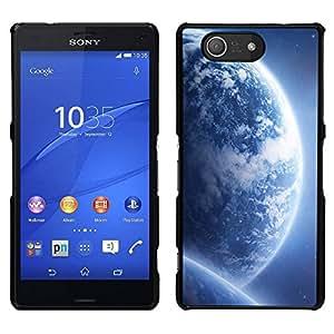 // PHONE CASE GIFT // Duro Estuche protector PC Cáscara Plástico Carcasa Funda Hard Protective Case for Sony Xperia Z3 Compact / Space Planet Galaxy Stars 68 /