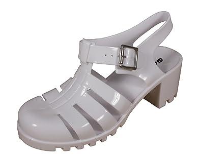 cb121678c4c7 Ranee! Women s Jelly Fisheman s Slingback Sandal