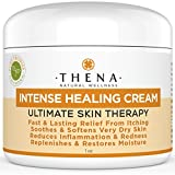 Eczema Psoriasis Healing Cream 1oz Travel Size - Best Natural Moisturizer Deep Intensive Skin Therapy Lotion For Rosacea, Seborrheic Dermatitis, Hives, Instantly Soothe & Soften Itchy Dry Cracked Skin