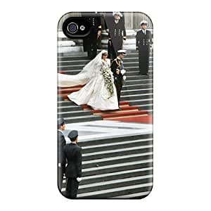 Defender Case For Iphone 4/4s, Charles E Diana No Casamento 2054 Pattern by supermalls