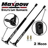 Maxpow 2pcs Hood Gas Charged Lift Support Fits 2003-2007 Honda Accord PM2024 4157