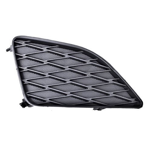 CarPartsDepot, Front Bumper End Cover Lower Grille Right (Passenger Side) w/o Fog Lamp Hole, 343-44124-12 TO1039115 8148102090