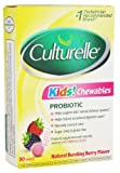 Culturelle Kids Chewables Probiotic, for kids 50-100lbs, Tablets, 30 ea by Culturelle