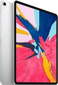 Apple iPad Pro (12.9-inch, Wi-Fi, 256GB) - Silver (2018) (Renewed)