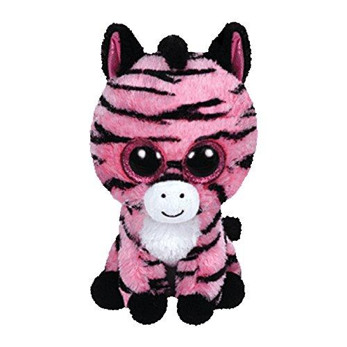 (TY Beanie Boo Plush - Zoey the Zebra 15cm)