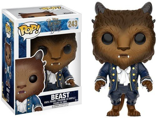 Funko - Beast figura de vinilo, coleccion de POP, seria Beauty & The Beast 2017 (12318)