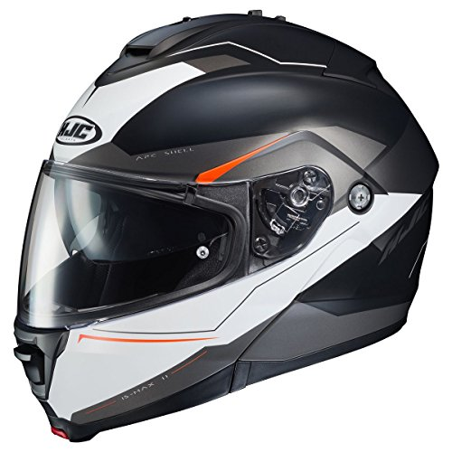 HJC Magma Men's IS-MAX 2 Street Bike Motorcycle Helmet - MC-5SF / Large by HJC Helmets