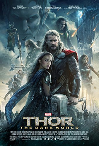 THOR 2 THE DARK WORLD MOVIE POSTER 2 Sided ORIGINAL FINAL 27