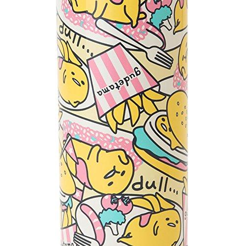Sanrio Gudetama stainless steel mug bottle L Food 460ml From Japan New