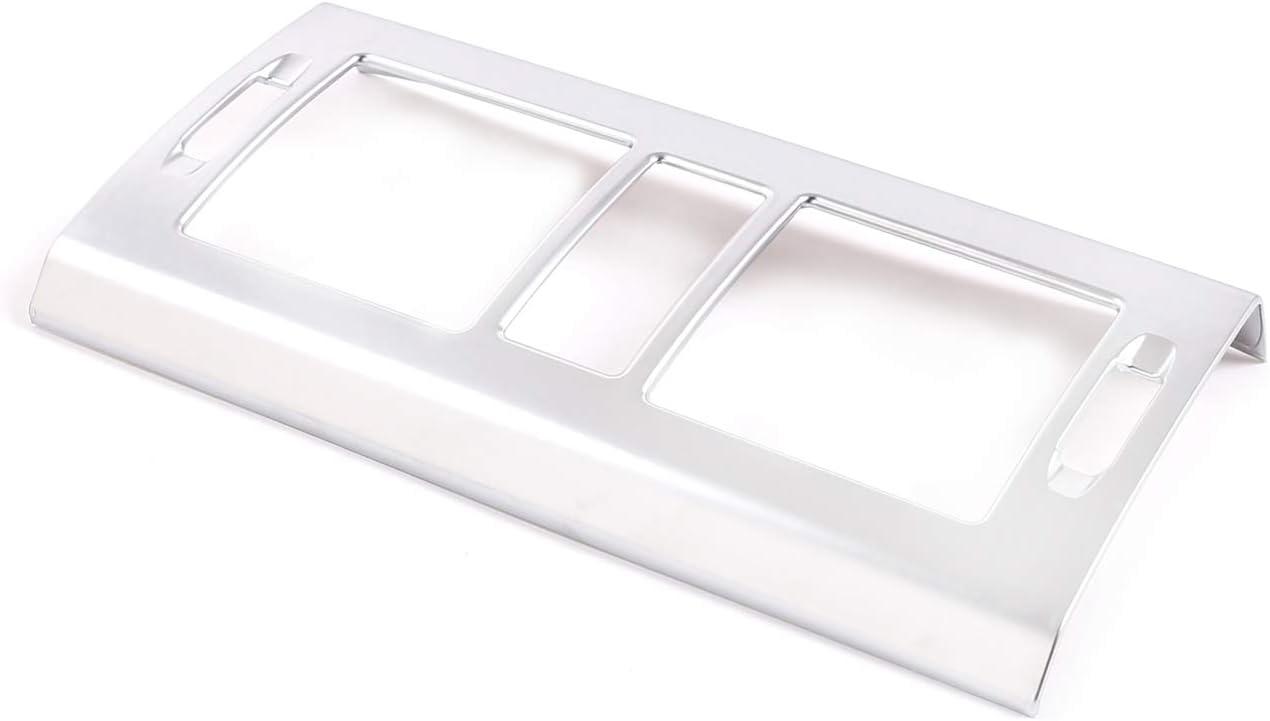 Gaetooely Auto Silber Klimaanlage Auslauf Panel Abdeckung Trim Chrom f/ür Mercedes X204 GLK 2008-12