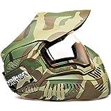 dual pane thermal paintball mask - Paintball Mask Mi7 Valken Sly Annex Mi-7 Thermal Paintball Mask / Goggles - Camo Woodland