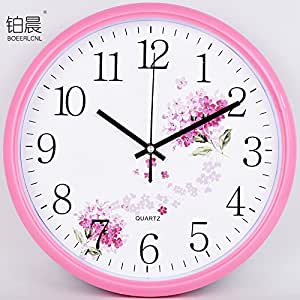 Wall Clock Werlm Sepia Restaurant Bedroom Living Room Wall Decoration Bedroom Living
