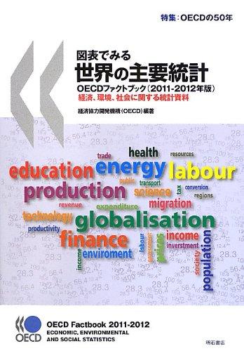 Read Online Zuhyo de miru sekai no shuyo tokei : Oishidi fakuto bukku : Keizai kankyo shakai ni kansuru tokei shiryo. 2011. ebook